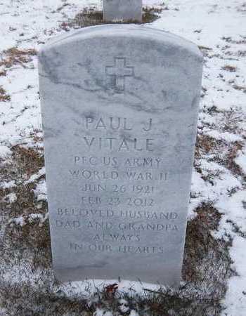 VITALE, PAUL J - Suffolk County, New York | PAUL J VITALE - New York Gravestone Photos