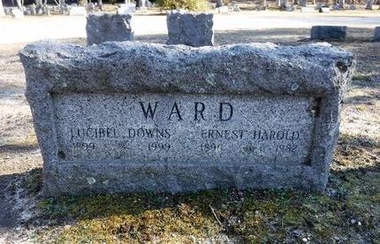 DOWNS WARD, LUCIBEL - Suffolk County, New York | LUCIBEL DOWNS WARD - New York Gravestone Photos