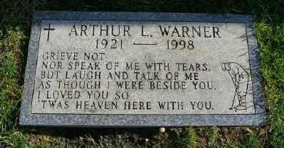 WARNER, ARTHUR L - Suffolk County, New York | ARTHUR L WARNER - New York Gravestone Photos