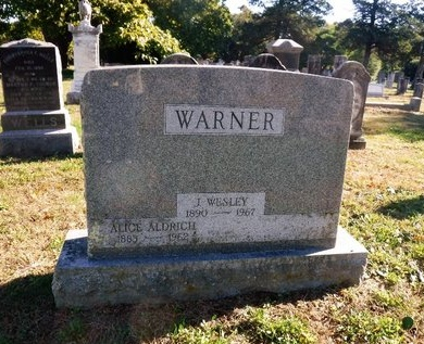 WARNER, JOHN WESLEY - Suffolk County, New York | JOHN WESLEY WARNER - New York Gravestone Photos