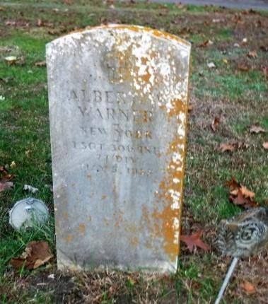 WARNER, ALBERT - Suffolk County, New York | ALBERT WARNER - New York Gravestone Photos