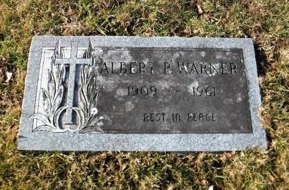 WARNER, ALBERT P - Suffolk County, New York   ALBERT P WARNER - New York Gravestone Photos
