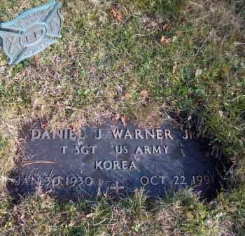 WARNER, DANIEL J. - Suffolk County, New York | DANIEL J. WARNER - New York Gravestone Photos