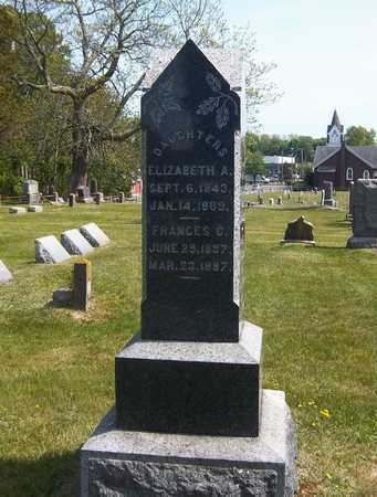 WARNER, FRANCES C - Suffolk County, New York | FRANCES C WARNER - New York Gravestone Photos