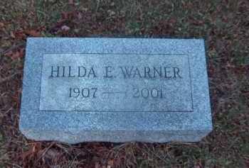 WARNER, HILDA E. - Suffolk County, New York | HILDA E. WARNER - New York Gravestone Photos