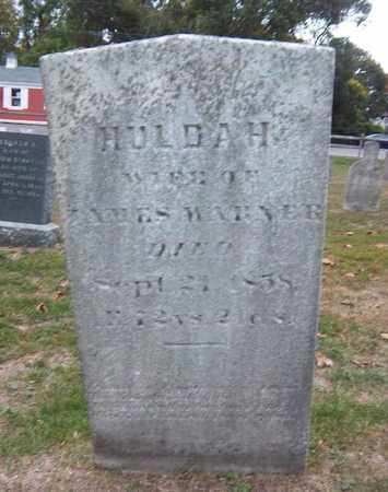 WARNER, HULDAH - Suffolk County, New York | HULDAH WARNER - New York Gravestone Photos