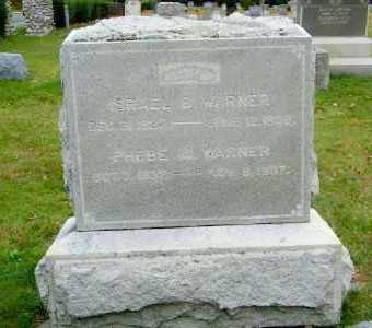 WARNER, ISRAEL S. - Suffolk County, New York | ISRAEL S. WARNER - New York Gravestone Photos