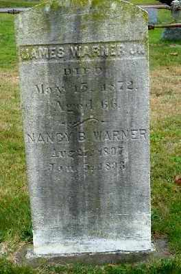 WARNER, NANCY B. - Suffolk County, New York | NANCY B. WARNER - New York Gravestone Photos