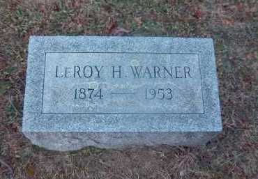 WARNER, LEROY H. - Suffolk County, New York | LEROY H. WARNER - New York Gravestone Photos