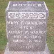 WARNER, MARY E - Suffolk County, New York | MARY E WARNER - New York Gravestone Photos