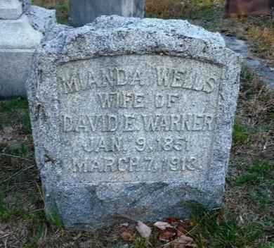 WARNER, MIANDA - Suffolk County, New York | MIANDA WARNER - New York Gravestone Photos