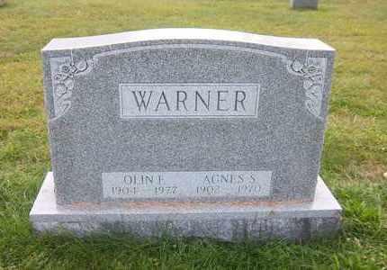 WARNER, AGNES S - Suffolk County, New York   AGNES S WARNER - New York Gravestone Photos