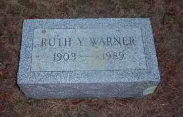 WARNER, RUTH Y. - Suffolk County, New York | RUTH Y. WARNER - New York Gravestone Photos