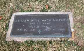 WASHINGTON, BENJAMIN H. - Suffolk County, New York | BENJAMIN H. WASHINGTON - New York Gravestone Photos