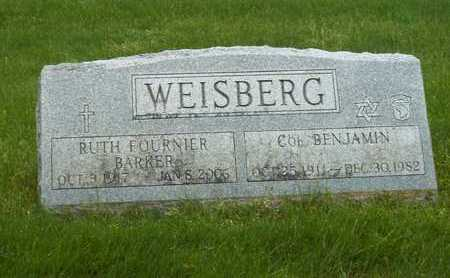 BARKER WEISBERG, RUTH FOURNIER - Suffolk County, New York | RUTH FOURNIER BARKER WEISBERG - New York Gravestone Photos