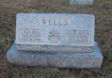 WELLS, ASA HILL - Suffolk County, New York | ASA HILL WELLS - New York Gravestone Photos