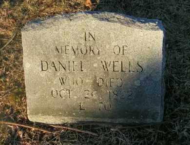 WELLS, DANIEL - Suffolk County, New York | DANIEL WELLS - New York Gravestone Photos