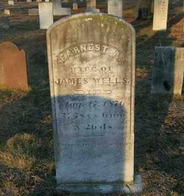 WELLS, EARNEST A. - Suffolk County, New York | EARNEST A. WELLS - New York Gravestone Photos