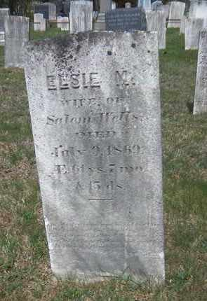 WELLS, ELSIE M. - Suffolk County, New York | ELSIE M. WELLS - New York Gravestone Photos