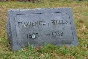WELLS, FLORENCE I - Suffolk County, New York | FLORENCE I WELLS - New York Gravestone Photos