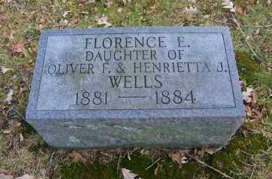 WELLS, FLORENCE E. - Suffolk County, New York | FLORENCE E. WELLS - New York Gravestone Photos