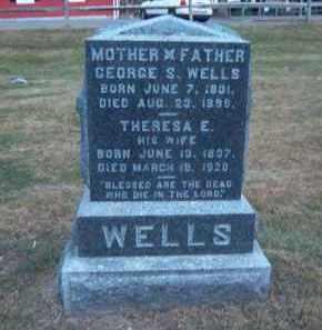 WELLS, THERESA - Suffolk County, New York   THERESA WELLS - New York Gravestone Photos