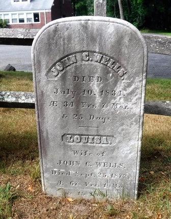 WELLS, JOHN C - Suffolk County, New York   JOHN C WELLS - New York Gravestone Photos