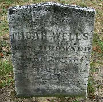 WELLS, MICAH - Suffolk County, New York | MICAH WELLS - New York Gravestone Photos