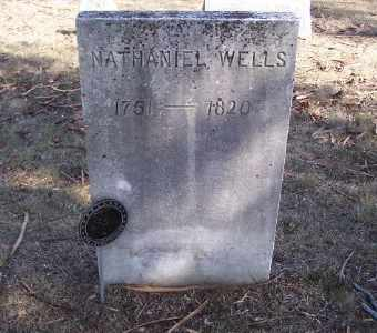 WELLS, NATHANIEL - Suffolk County, New York | NATHANIEL WELLS - New York Gravestone Photos