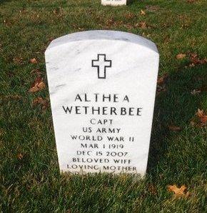 WETHERBEE, ALTHEA - Suffolk County, New York | ALTHEA WETHERBEE - New York Gravestone Photos