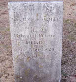 WHITE, EMMA - Suffolk County, New York | EMMA WHITE - New York Gravestone Photos