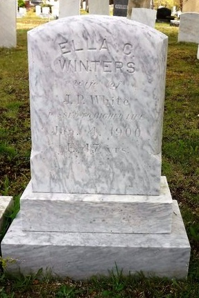 WINTERS WHITE, ELLA C - Suffolk County, New York | ELLA C WINTERS WHITE - New York Gravestone Photos