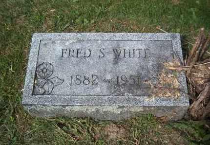 WHITE, FRED S - Suffolk County, New York | FRED S WHITE - New York Gravestone Photos