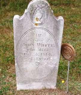WHITE, JOHN - Suffolk County, New York | JOHN WHITE - New York Gravestone Photos