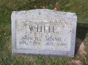 WHITE, JOHN H. - Suffolk County, New York | JOHN H. WHITE - New York Gravestone Photos