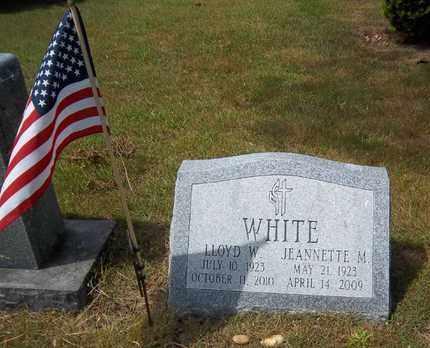 WHITE, JEANNETTE M - Suffolk County, New York | JEANNETTE M WHITE - New York Gravestone Photos