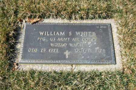 WHITE, WILLIAM S. - Suffolk County, New York | WILLIAM S. WHITE - New York Gravestone Photos