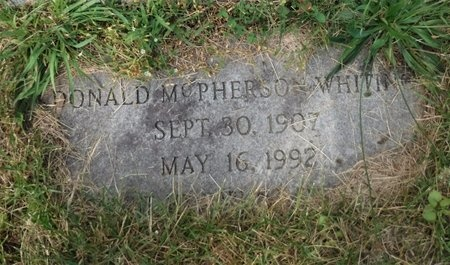 WHITING, DONALD MCPHERSON - Suffolk County, New York   DONALD MCPHERSON WHITING - New York Gravestone Photos