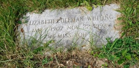 WHITING, ELIZABETH - Suffolk County, New York | ELIZABETH WHITING - New York Gravestone Photos