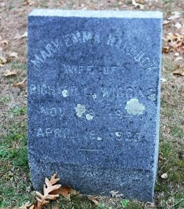 HALLOCK, MARY EMMA - Suffolk County, New York   MARY EMMA HALLOCK - New York Gravestone Photos