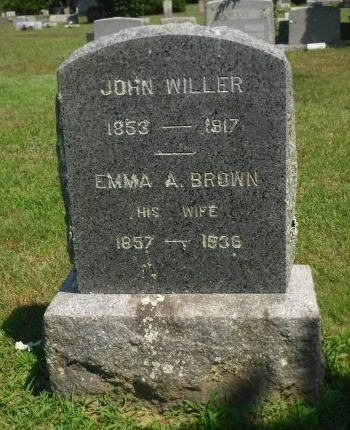 BROWN, EMMA A - Suffolk County, New York | EMMA A BROWN - New York Gravestone Photos
