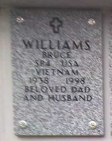 WILLIAMS, BRUCE - Suffolk County, New York | BRUCE WILLIAMS - New York Gravestone Photos