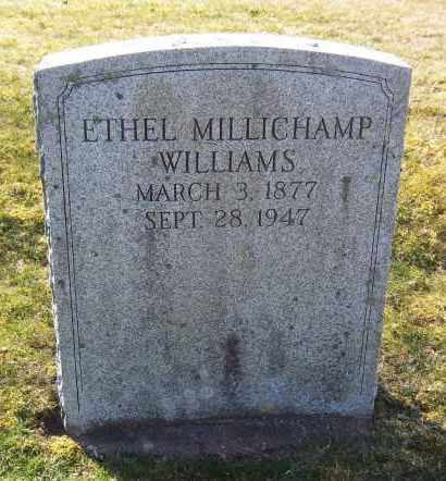 WILLIAMS, ETHEL - Suffolk County, New York | ETHEL WILLIAMS - New York Gravestone Photos
