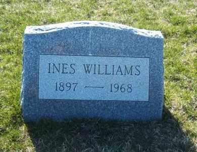 WILLIAMS, INES - Suffolk County, New York | INES WILLIAMS - New York Gravestone Photos