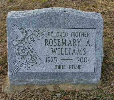 WILLIAMS, ROSEMARY A - Suffolk County, New York | ROSEMARY A WILLIAMS - New York Gravestone Photos