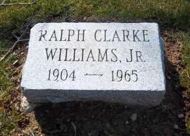 WILLIAMS, RALPH - Suffolk County, New York | RALPH WILLIAMS - New York Gravestone Photos