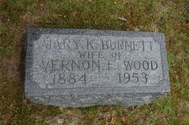 BURNETT, MARY K - Suffolk County, New York | MARY K BURNETT - New York Gravestone Photos