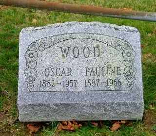 WOOD, PAULINE - Suffolk County, New York | PAULINE WOOD - New York Gravestone Photos
