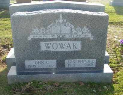 WOWAK, JOSEPHINE T. - Suffolk County, New York | JOSEPHINE T. WOWAK - New York Gravestone Photos