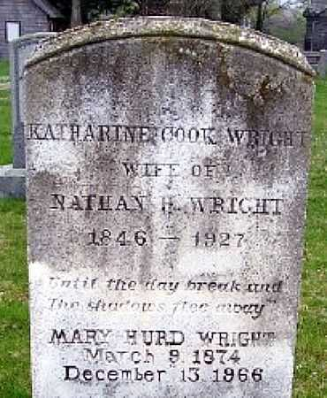 COOK WRIGHT, KATHERINE - Suffolk County, New York | KATHERINE COOK WRIGHT - New York Gravestone Photos
